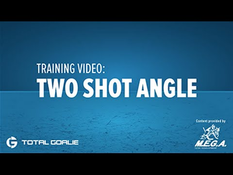 Be A Goalie Training Video Two Shot Angle Drill
