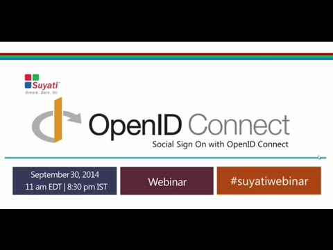 Suyati Webinar: Social Sign-On with OpenID Connect - Salesforce