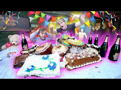 EVAN'S CRAZY EPIC ILLEGAL AMAZING 21ST BIRTHDAY PARTY SURPRISE!