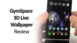 GyroSpace 3D Live Wallpaper Android App Review - Space Astronomy themed wallpaper