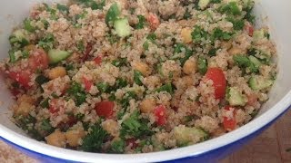 Easy Tabbouleh Salad Recipe (tabouli, Tabouleh, Dalia Salad ) - Healthy Lunch Ideas