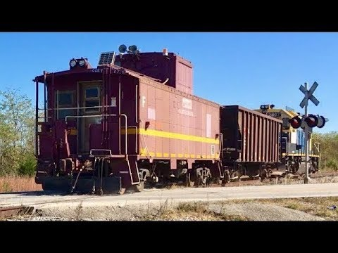 Cabooses Galore!   Cabooses On Freight Trains! Part 2