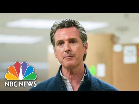 Live: California Gov. Newsom Gives Update On Coronavirus Response   NBC News