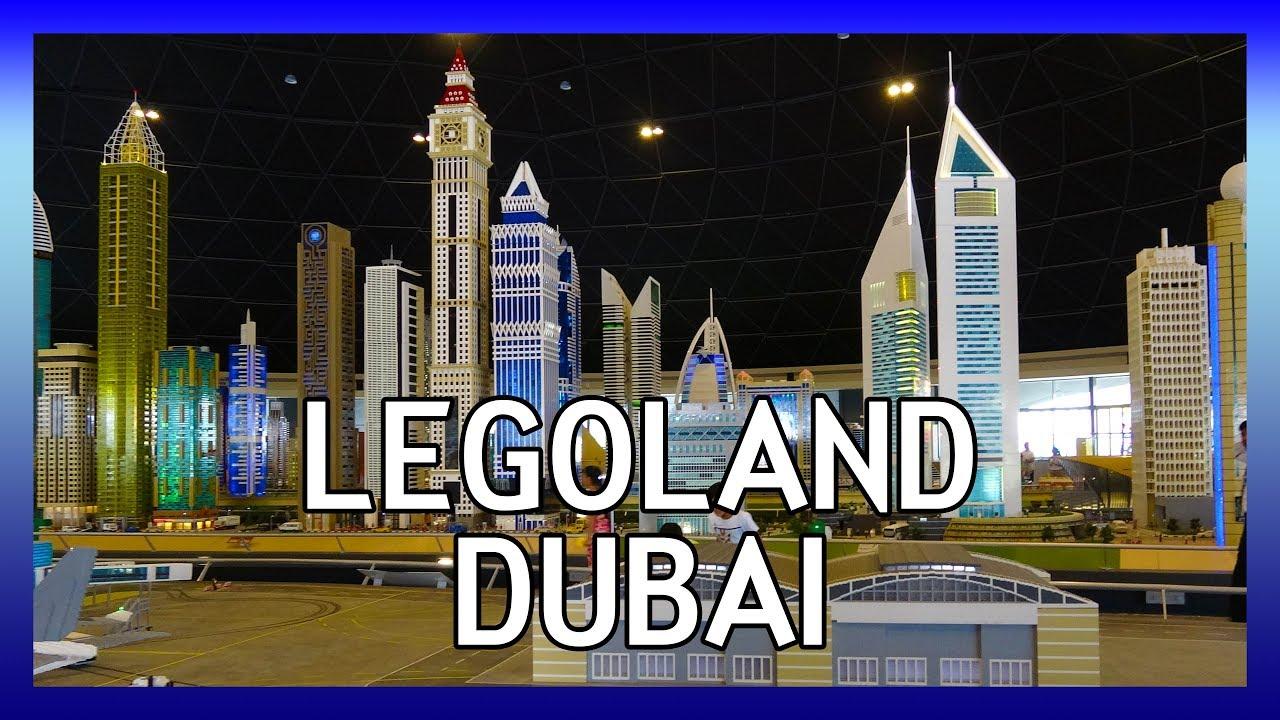 Legoland Dubai | Lego theme park in the Middle East - YouTube