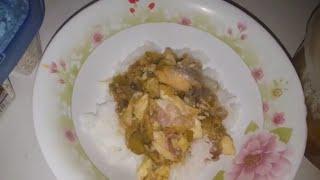 Congolese Food dongo dongo (Catfish Stew)