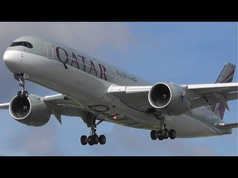 30mins+ of Summer Plane Spotting at London Heathrow Airport