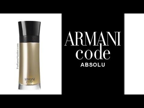 Giorgio Armani Code Absolu New Fragrance Youtube