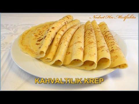 Kahvaltılık Krep Tarifi   - Nedret Hanım Mutfakta  [HD]