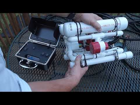 Home Built ROV- Remotely Operated Vehicle