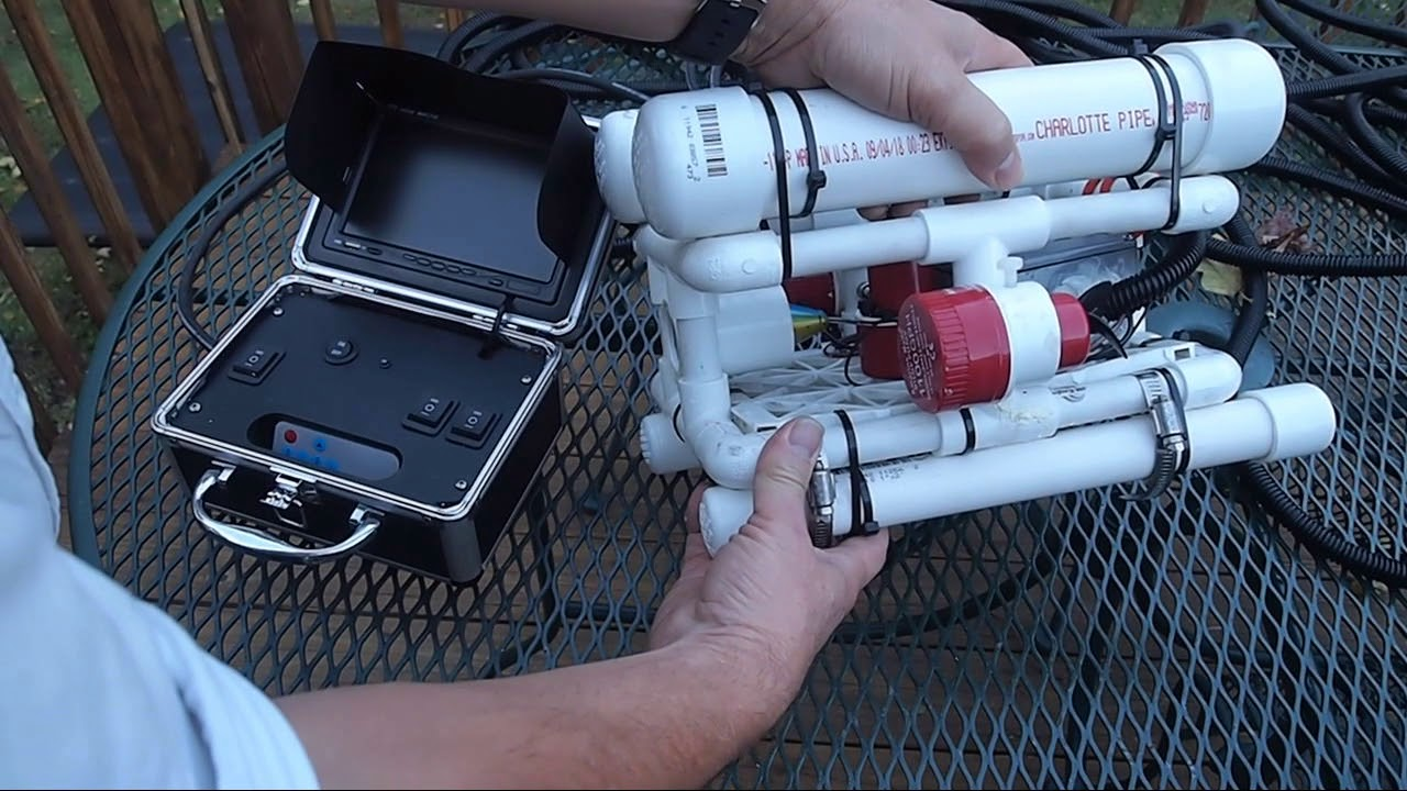 Home Built ROV- Remotely Operated