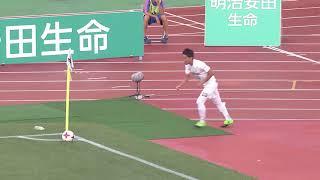 2017年9月30日(土)に行われた明治安田生命J1リーグ 第28節 新潟vs神...