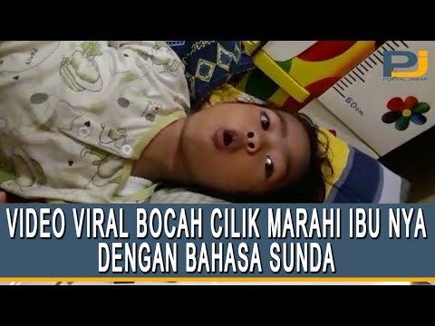 VIDEO VIRAL BOCAH CILIK MARAHI IBUNYA DENGAN BAHASA SUNDA