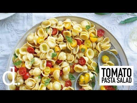 Orecchiette tomato pasta salad