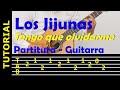 LOS JIJUNAS - Tengo que olvidarme de ti - Punteo de guitarra
