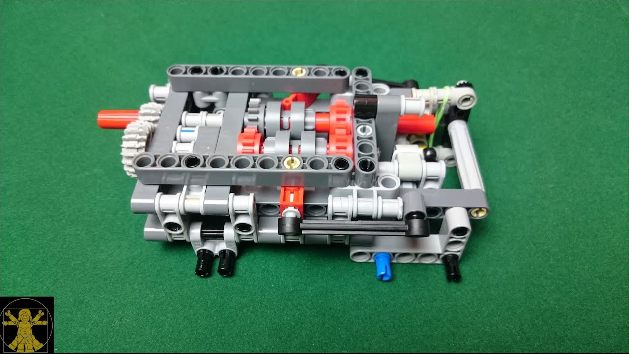 lego technic gearbox building instructions