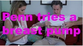 holderness penn tries a breast pump   the holderness family