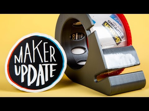 Maker Update: Dot Matrix