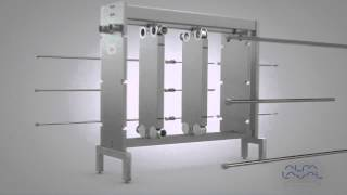 Alfa Laval Multi Section Hygienic Gasketed Plate Heat Exchanger