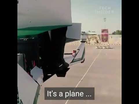 Dubai police new flying machine
