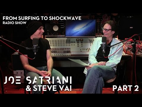 Joe Satriani & Steve Vai: From Surfing To Shockwave (Part 2)