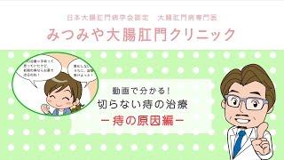動画で分かる!切らない痔の治療 痔の原因編 【みつみや大腸 肛門クリニ...