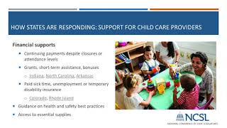 Covid 19 Education, Child Care And Nutrition