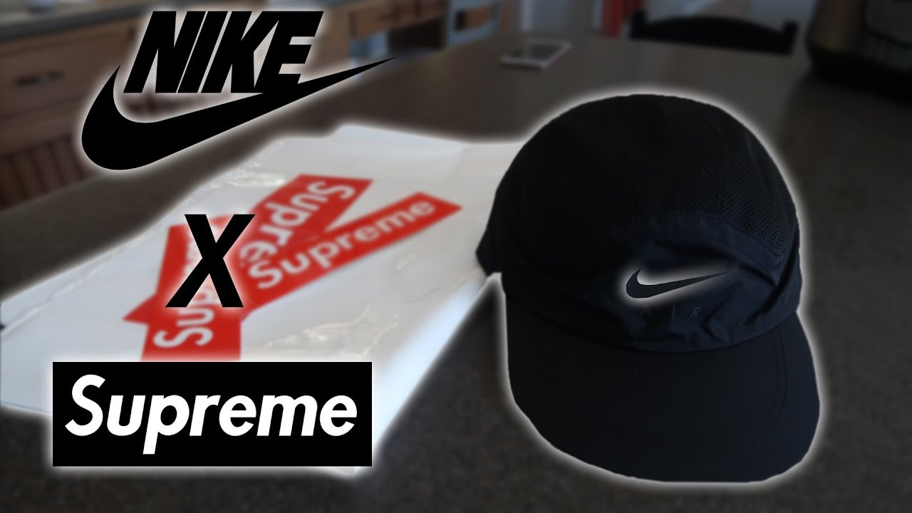 4ae15174 Nike X Supreme Hat | Unboxing and First Impressions - YouTube