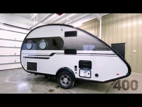The 2021 TAB 400 Teardrop Camper by nuCamp