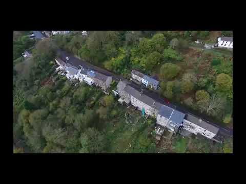 Drone Footage of Cyfyng Road - Ystalyfera