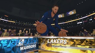 NBA 2K19 - Golden State Warriors v Los Angeles Lakers Gameplay [1080p 60FPS HD]