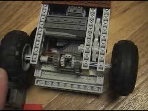 Sign And Drive 45 >> Simple Lego Differential Car Application, rear wheel drive ...