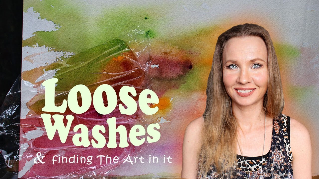 Loose washes and finding The art in it by Olga Peregood Watercolours - Loose washes and finding The art in it by Olga Peregood Watercolours