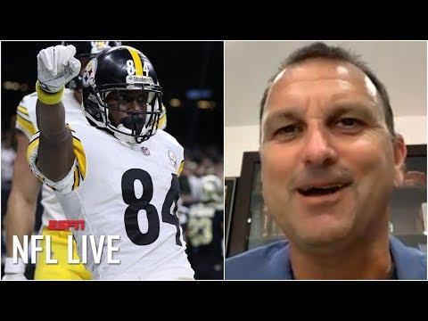 Antonio Brown looking forward to future in NFL, not past - Drew Rosenhaus | NFL Live