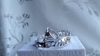 Комплект из серебра без вставок