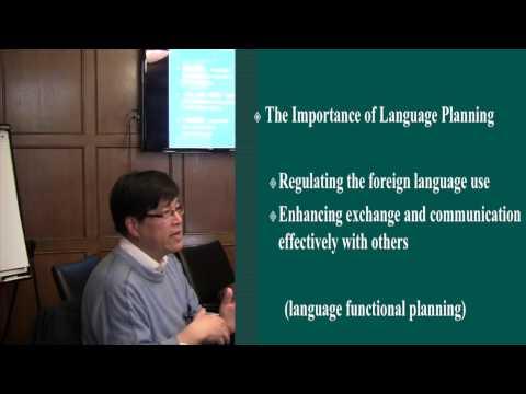 Language Planning in China