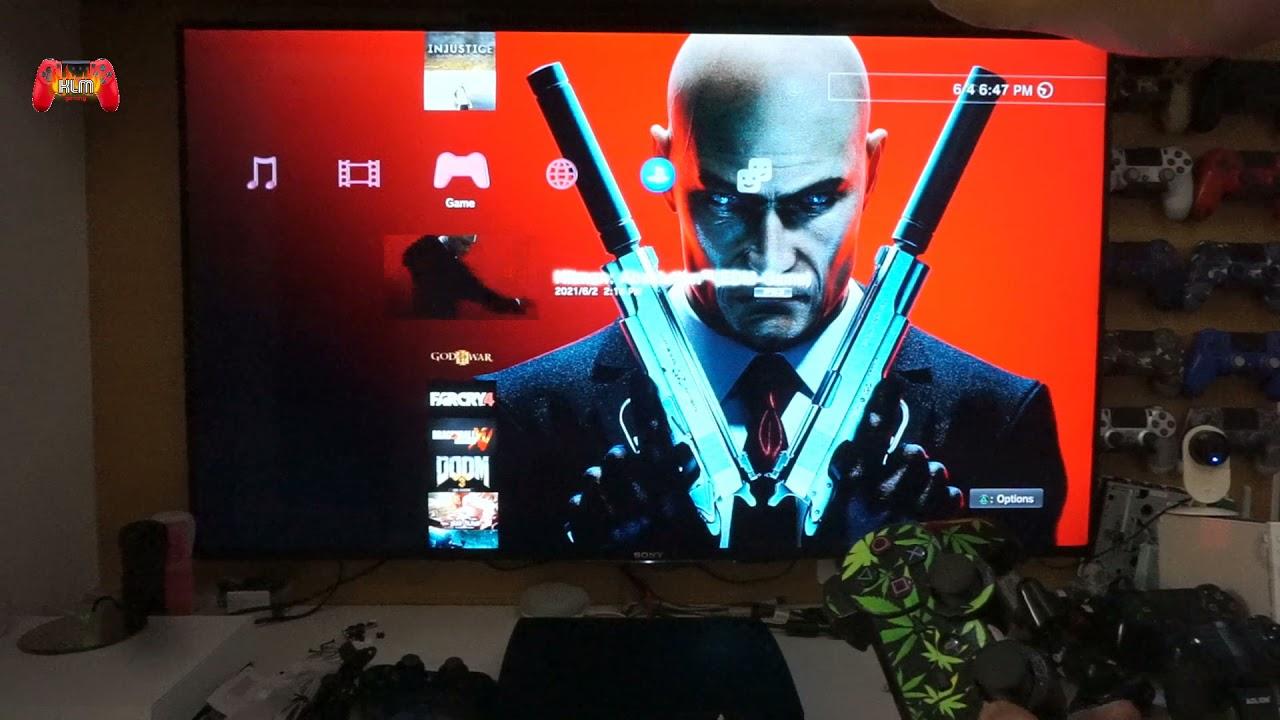 PS3 slim hackfull 500gb nhiều game [test bộ ps3 slim hackfull cho bác Tiến Anh ở Quảng Ninh]