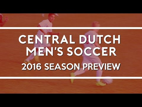 2016 Central College Men's Socccer Preview