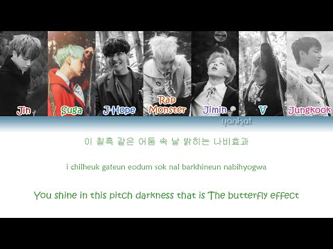 Mix - BTS (방탄소년단) - Butterfly (Color Coded Han|Rom|Eng Lyrics) | by Yankat