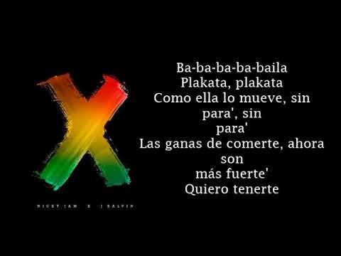 Download Nicky Jam x J Balvin x Equis - Lyrics