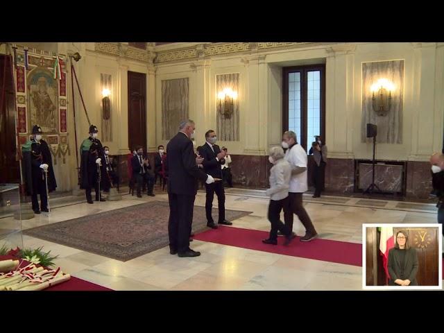 Premiazione Susy Giani Liuzzi 7 dic 2020
