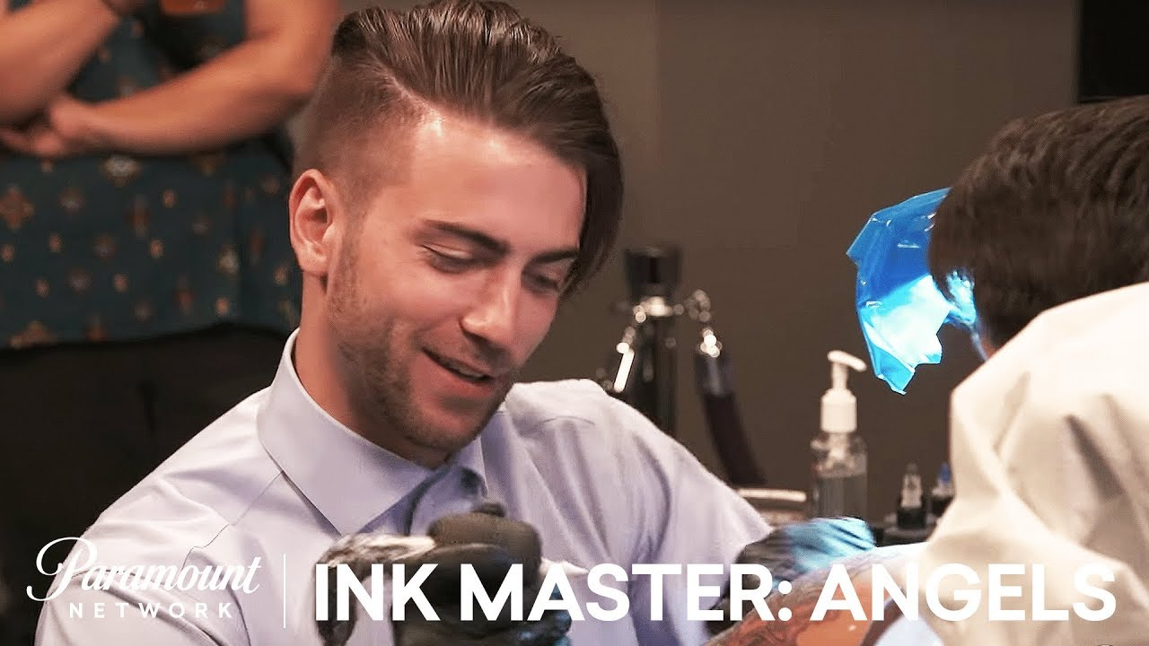 daniel silva takes on ryan ashley tattoo face off ink