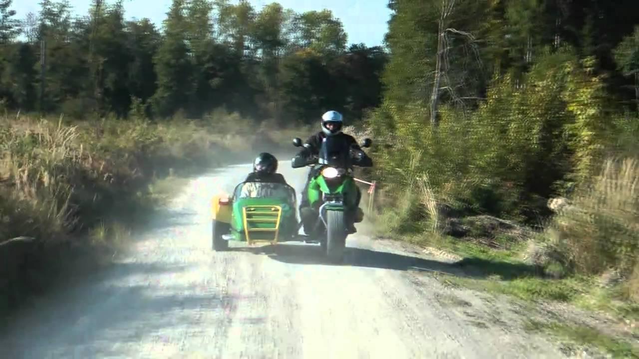 Bmw Gs Gespann Im Herbst Sidecar Youtube