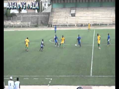 Match de football AAFA VS AZM-TOGO 2ème PERIODE