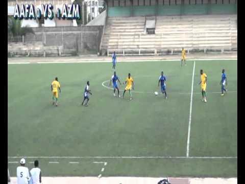 Match de football AAFA VS AZM-TOGO 2ème PERIODE