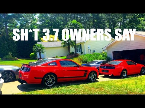 SH*T 3.7 Mustang Owners SAY