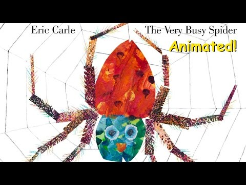 Free Download The Very Busy Spider - Animated Children's Book Mp3 dan Mp4