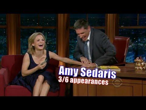 Amy Sedaris - Super Fun Girl, A Fantastic Guest - 3/6 Appearances w/ Craig Ferguson