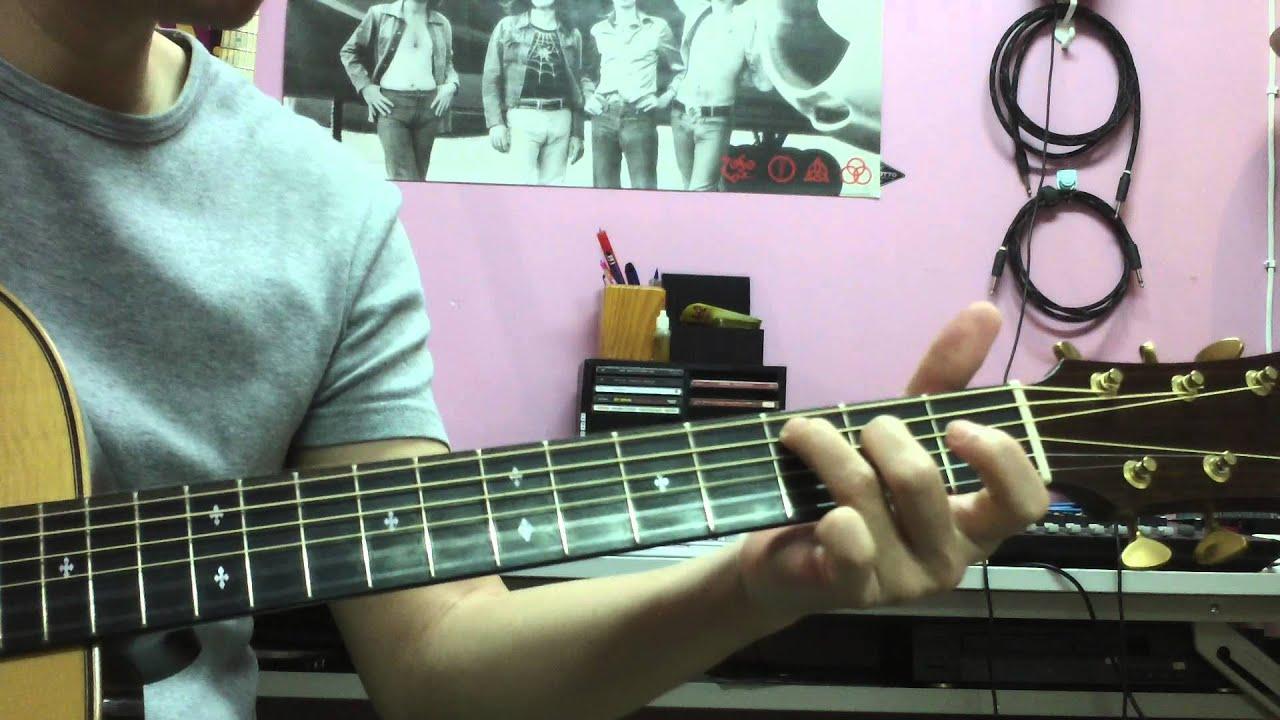 我的歌聲裡 吉他伴唱 - YouTube
