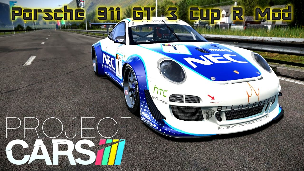 project cars mod porsche 911 gt 3 cup r bannochbrae road circuit 2 laps youtube. Black Bedroom Furniture Sets. Home Design Ideas