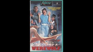My Mom's a Werewolf (1989) Previews - Dutch VHS Release